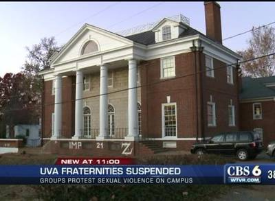 News video: University of Virginia Suspends All Fraternities After Rape Allegations